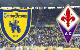 Serie A: chievo fiorentina video gol calcio