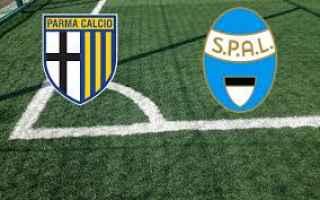 Serie A: parma spal video gol calcio