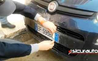 Napoli: napoli video targa auto polizia