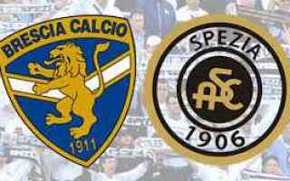Serie B: brescia spezia video gol calcio