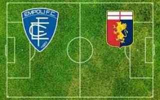Serie A: empoli genoa video gol calcio