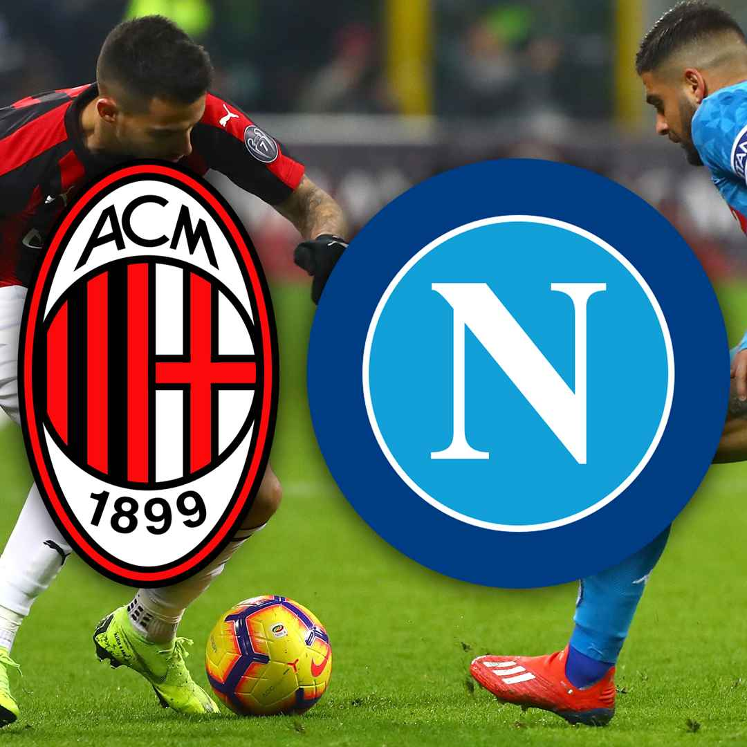 milan napoli video gol calcio