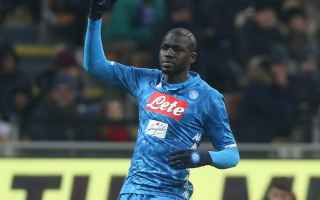 Serie A: koulibaly milan napoli video calcio