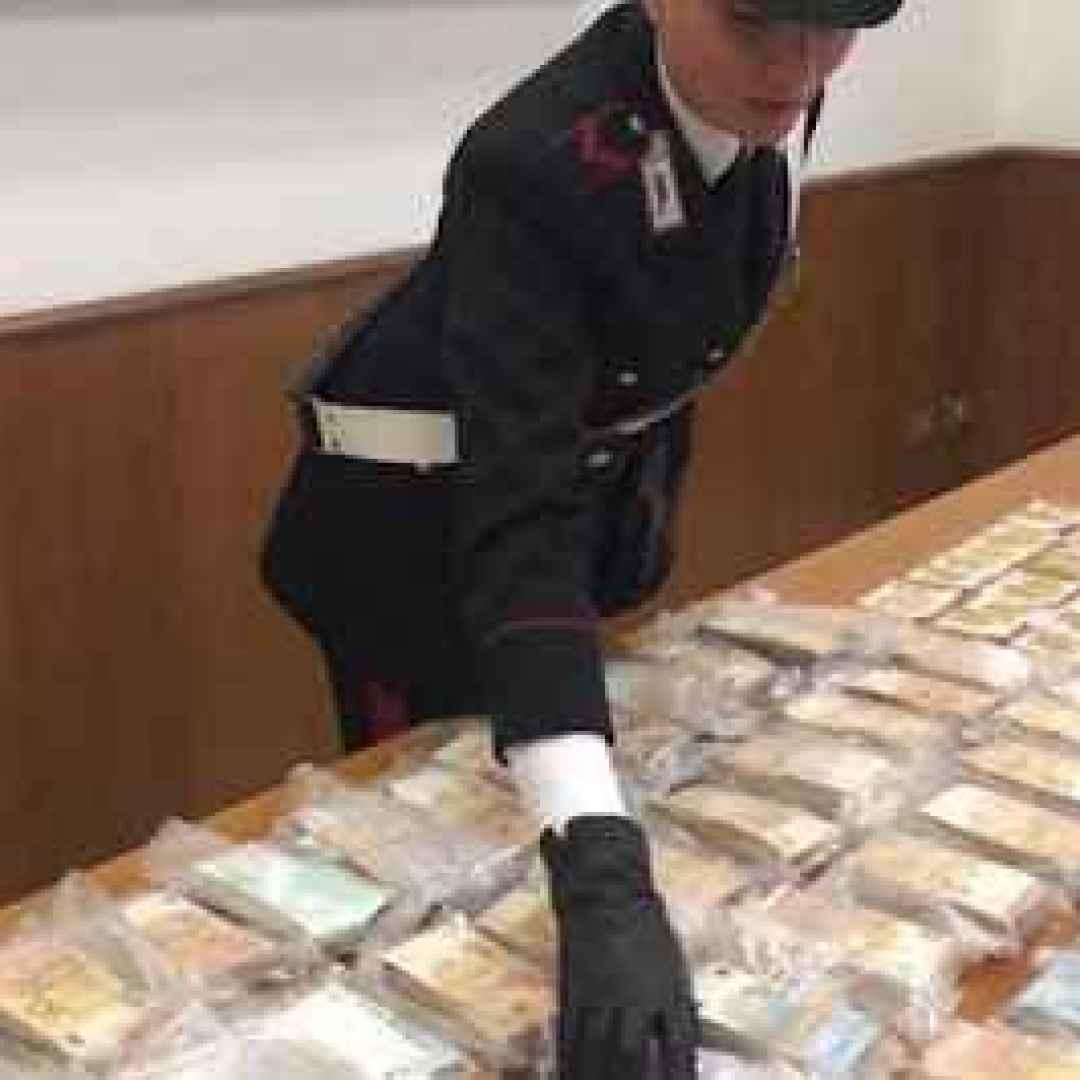 torino video carabinieri tesoro
