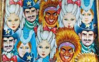 Cultura: carnevale  maschere  arlecchino