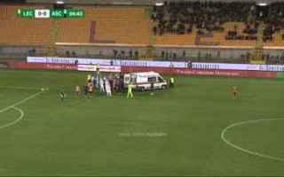 Serie B: lecce ascoli scavone video calcio