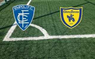 Serie A: empoli chievo video gol calcio