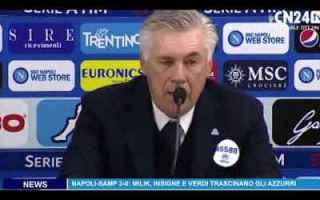Serie A: napoli ancelotti hamsik calcio video