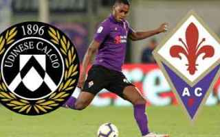 Serie A: udinese fiorentina video gol calcio