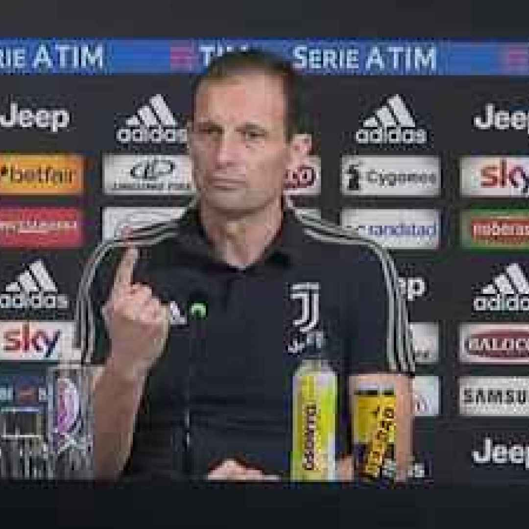 allegri video calcio juventus parma