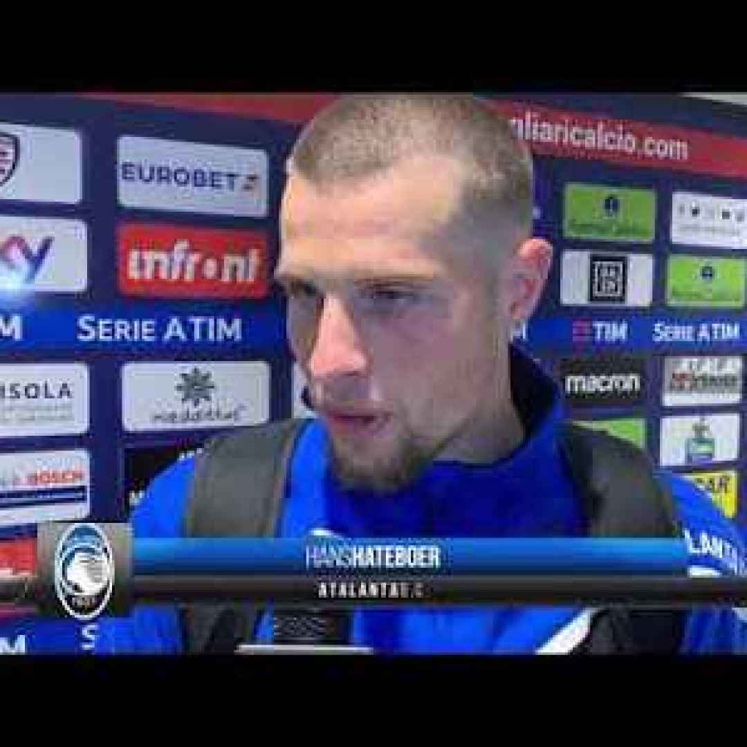 atalanta bergamo video intervista calcio