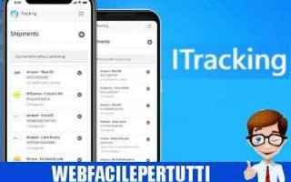 App: itracking  app  corriere  spedizioni