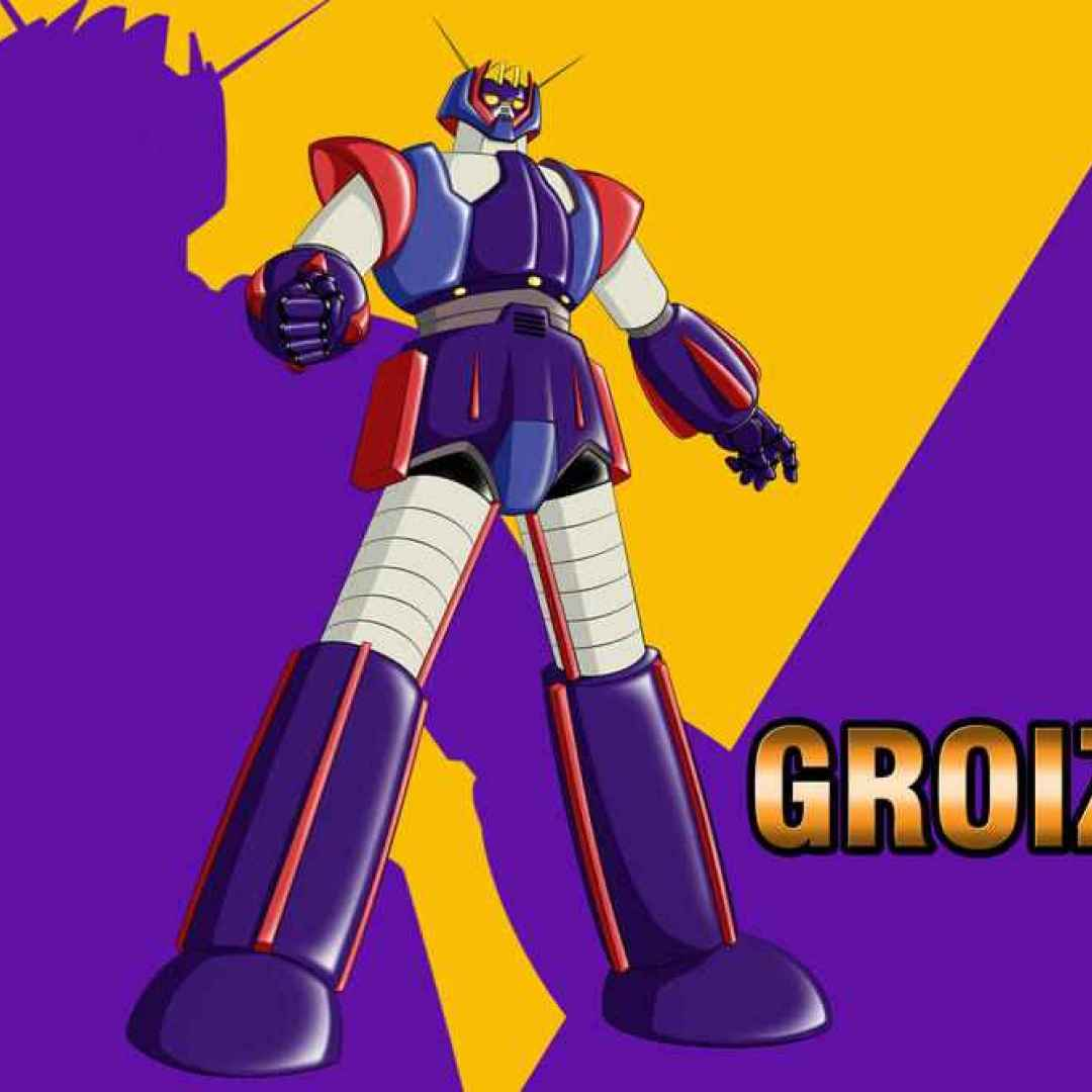 robot  groizer x  anime  sigla  cartoni