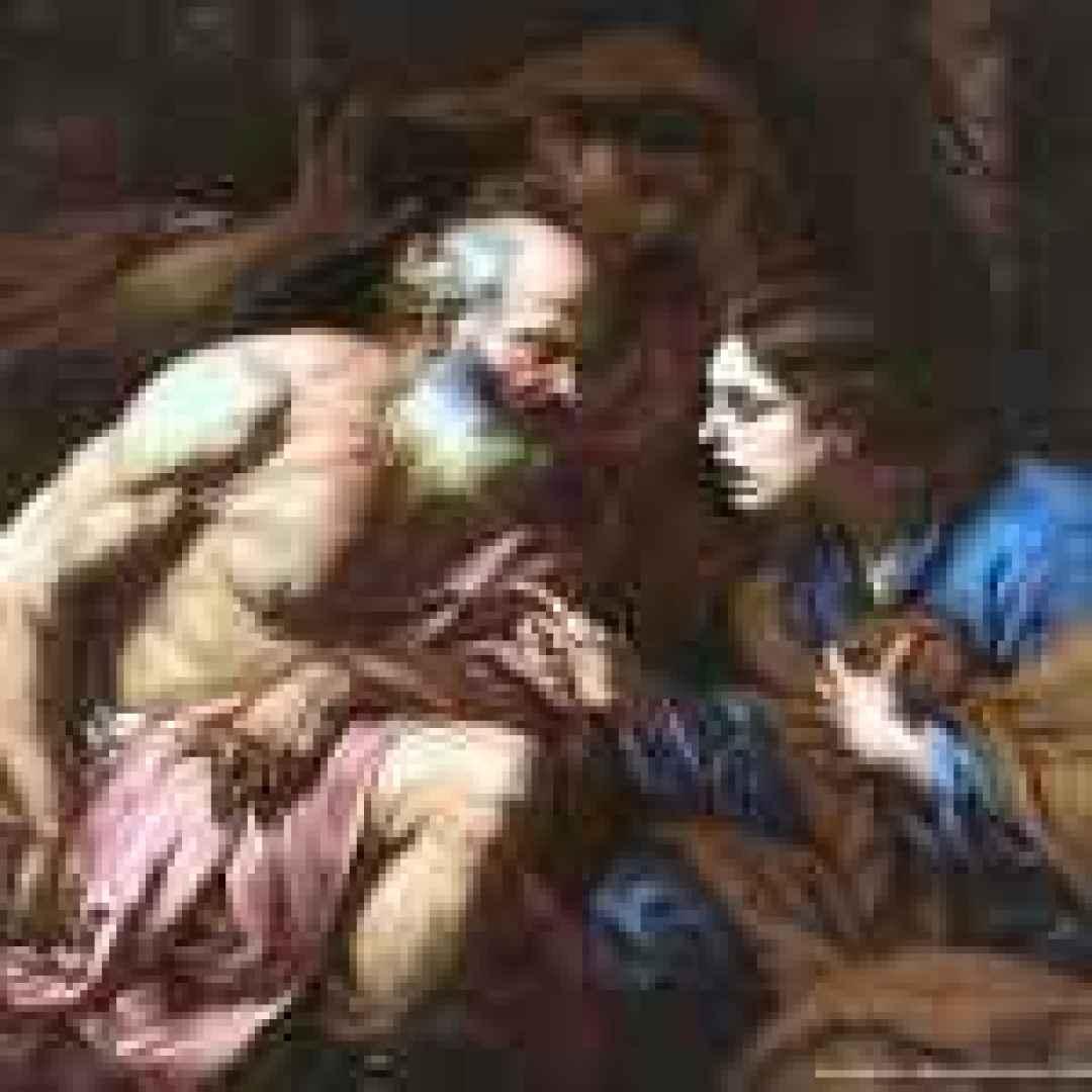 langetti  tenebrismo  venezia  pittura
