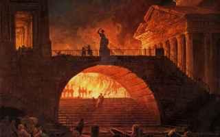 Storia: nerone  cristiani incendio di roma