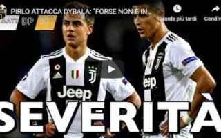 Serie A: pirlo dybala video juventus calcio