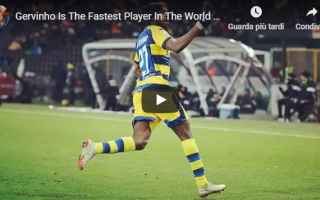Serie A: calcio gervinho roma parma video
