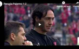 Serie B: perugia palermo video gol calcio