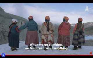 dal Mondo: scalate  montagne  imprese  donne