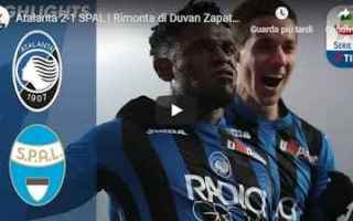 Serie A: atalanta spal video calcio gol