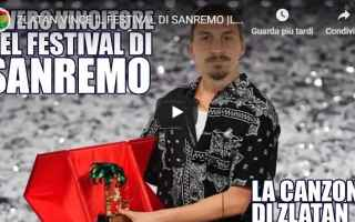 ibrahimovic  musica  sanremo  video  calcio