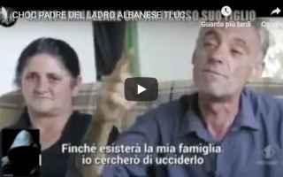 uccidere  minacce  figlio  albania  video
