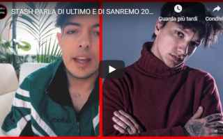 Musica: stash ultimo video sanremo musica