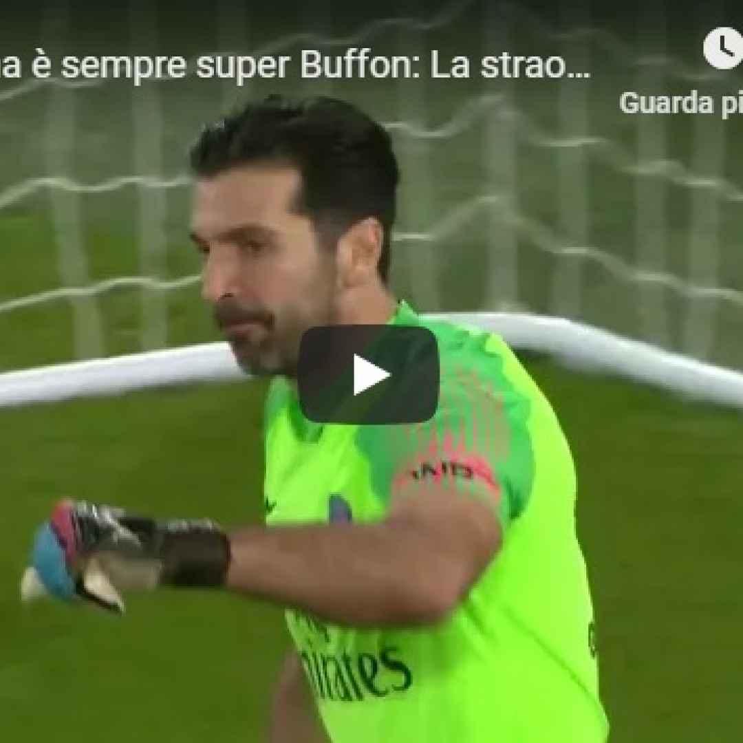 buffon video psg calcio francia