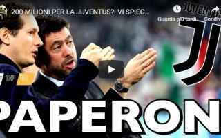 Serie A: juve juventus video soldi calcio