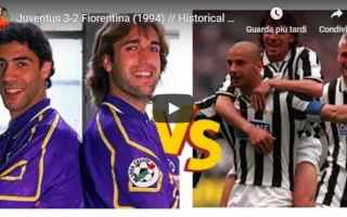 Serie A: juventus fiorentina video gol calcio