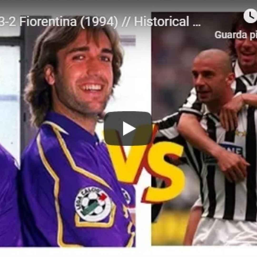 juventus fiorentina video gol calcio
