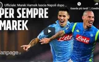 Calciomercato: video marek hamsik napoli cina mercato