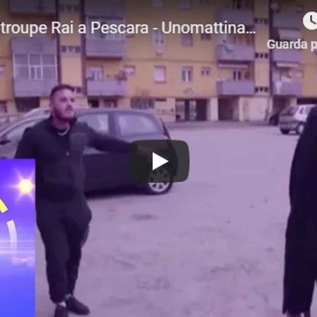 Aggredita troupe Rai a Pescara - VIDEO