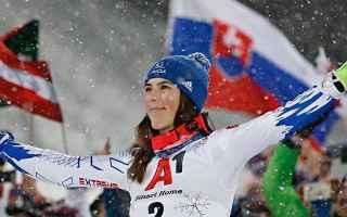 Nel gigante femminile, Petra Vlhova conferma lottima stagione di Coppa del mondo, vincendo loro con