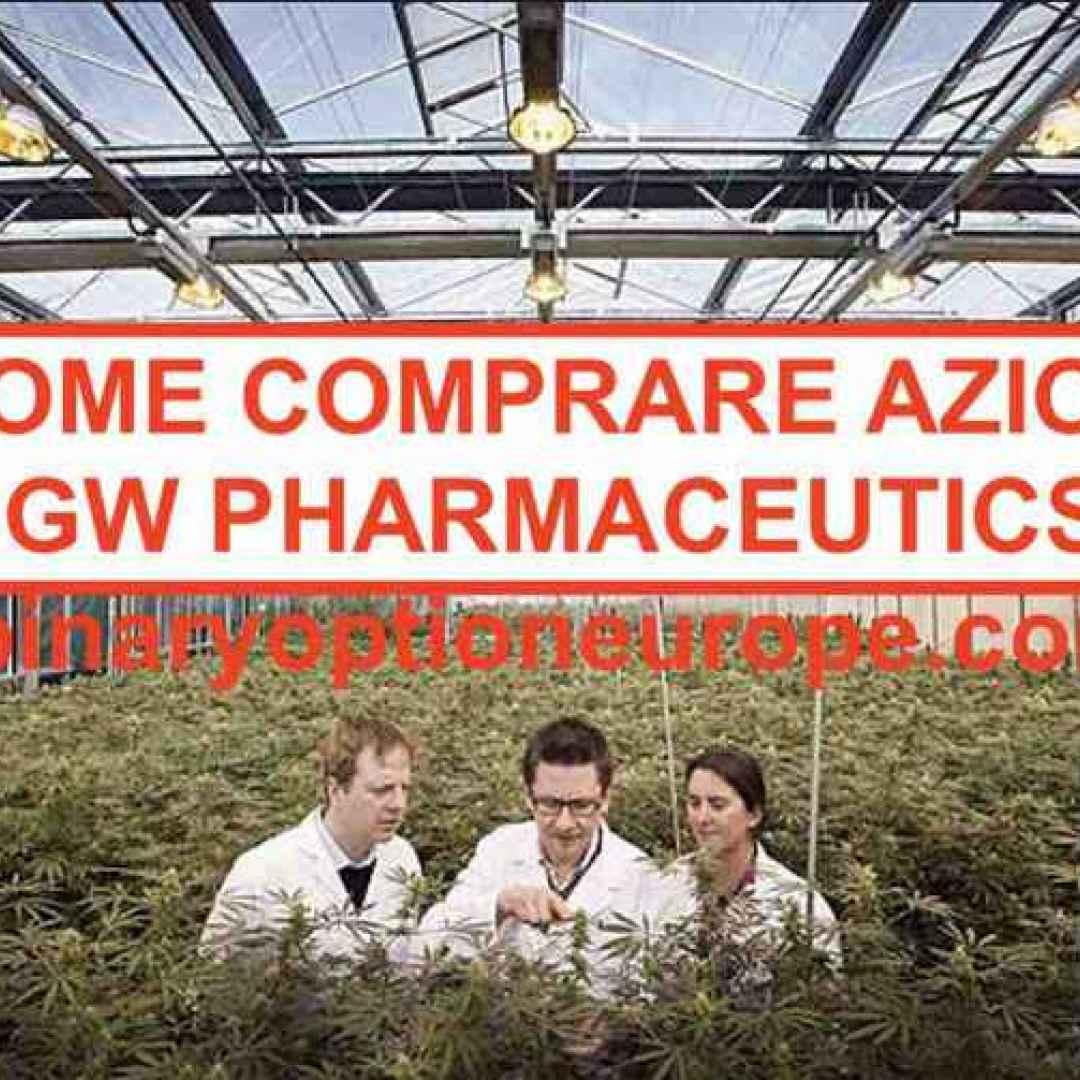gw pharmaceuticals  cannabis. canapa