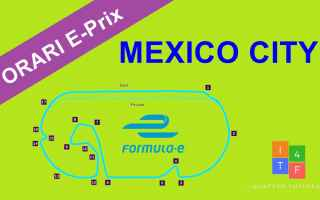 Motori: formula e  mexicocityeprix