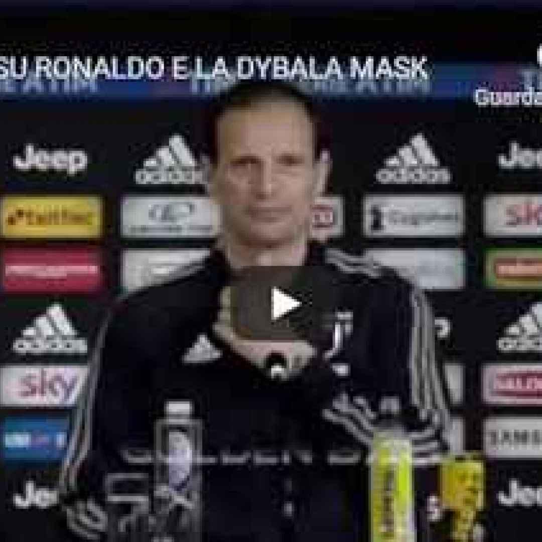 allegri juventus ronaldo calcio video