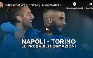 Serie A: napoli torino video calcio formazioni