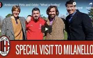 Serie A: ambrosini pirlo oddo milan calcio