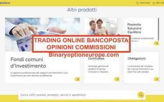 trading online bancoposta  opinioni