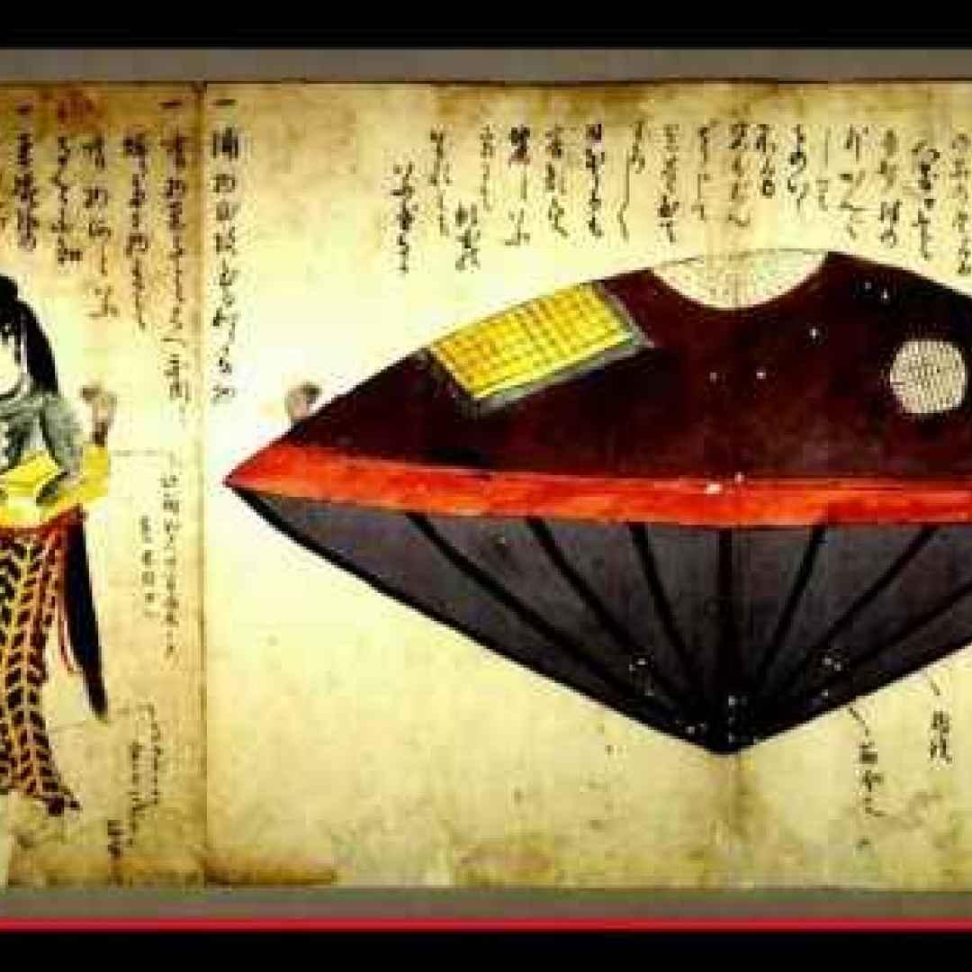 storia  giappone  miti  leggende  barche
