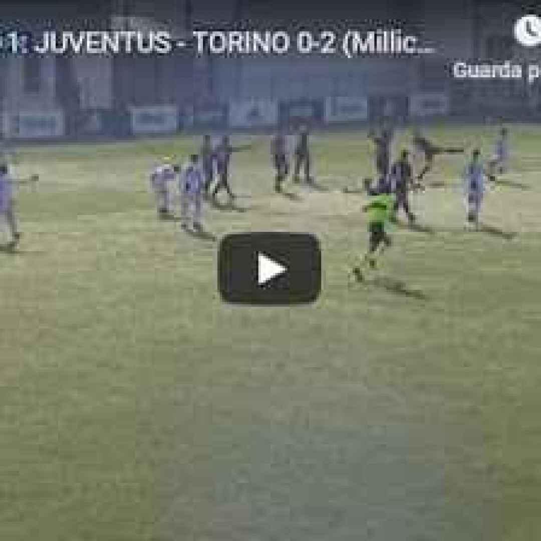 torino juventus video gol calcio