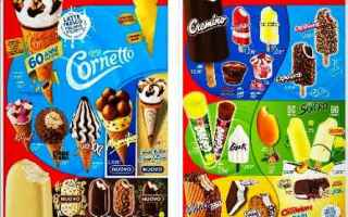 Gastronomia: gelati  algida  kinder  snack