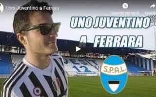 Serie A: video tifoso juventus ferrara calcio