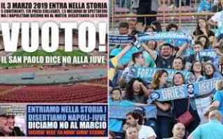 Serie A: napoli  juve  arbitri  stadio  vuoto