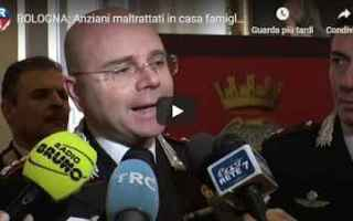 Bologna: cronaca video anziani bologna shock