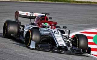 Formula 1: f1  formula1  alfa romeo  giovinazzi