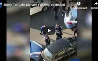 Roma: roma video polizia romeni droga