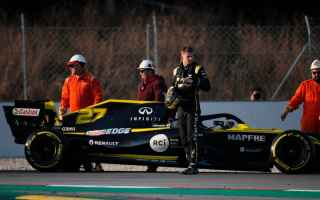Formula 1: f1  f1testing  renault  hulkenberg