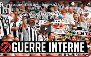 juventus chievo video gol tifosi